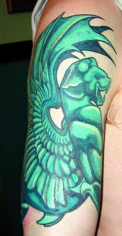 Gargoyle tattoo