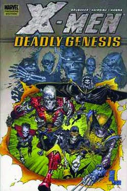 X-Men: Deadly Genesis cover