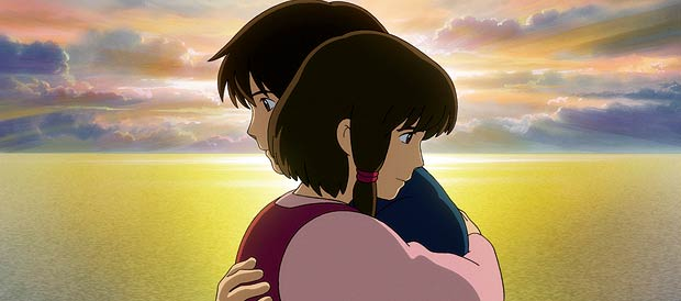 a few inspired moments, the benign worldview that made Spirited Away