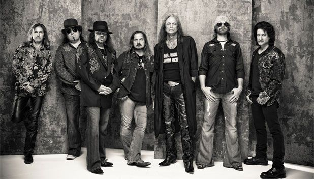 Lynyrd Skynyrd - SECC: Clyde Auditorium, Glasgow, Wed 27 May