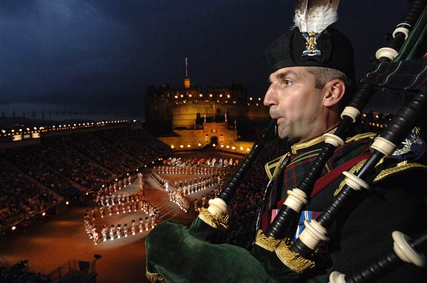 Of all Edinburgh's August happenings, the Military Tattoo is perhaps the