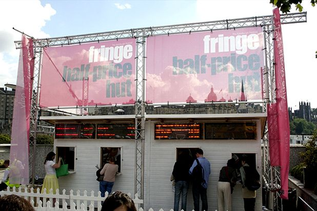 Half Price Hut set for Edinburgh Fringe 2009