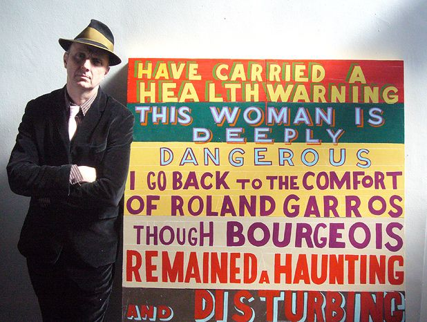 Bob and Roberta Smith: This Artist is Deeply Dangerous