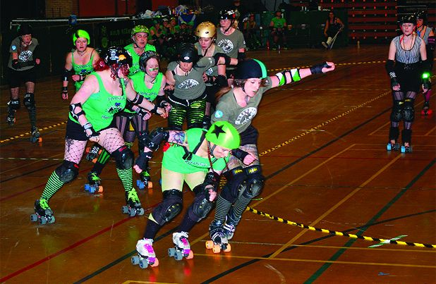 Edinburgh: Roller Derby