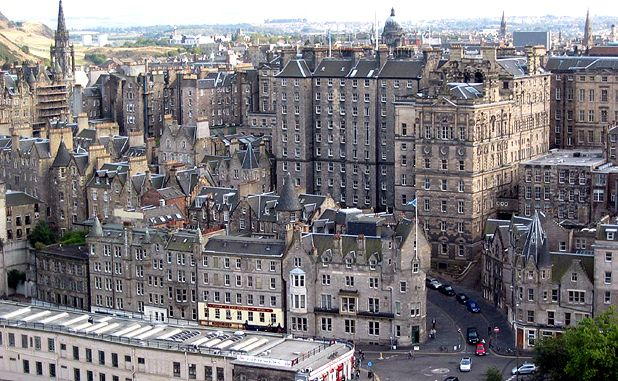 guide to edinburgh s old town the list
