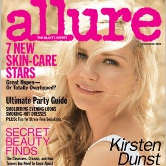 Kirsten Dunst on Allure cover