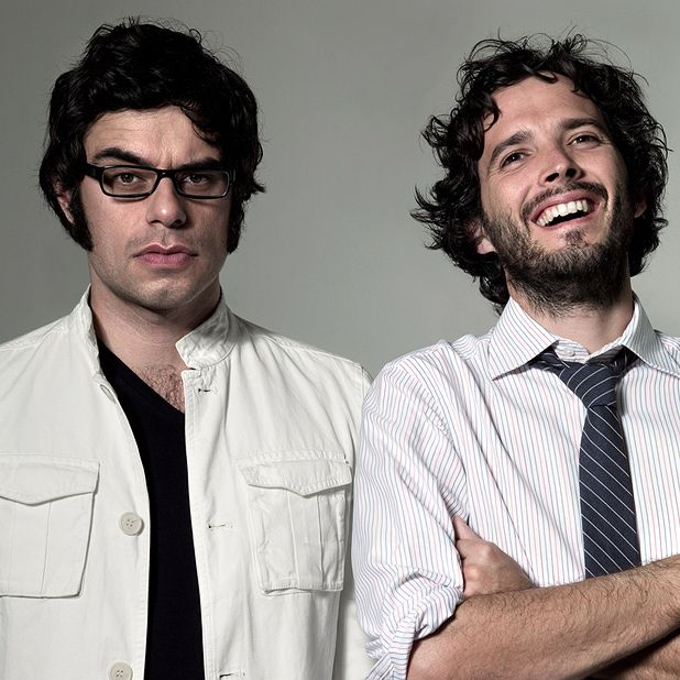 Flight of the Conchords are feeling supersonic