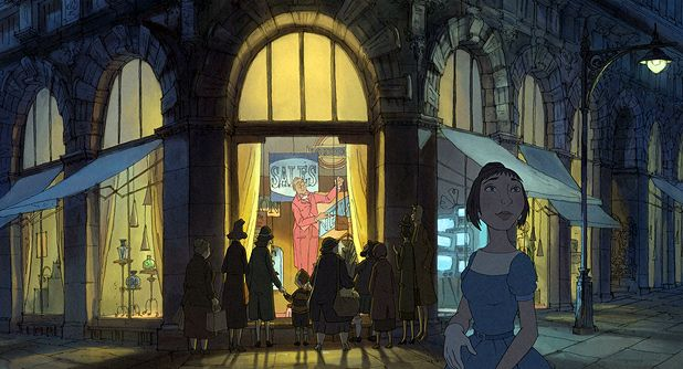 The Illusionist - Sylvain Chomet creates Edinburgh as never seen before