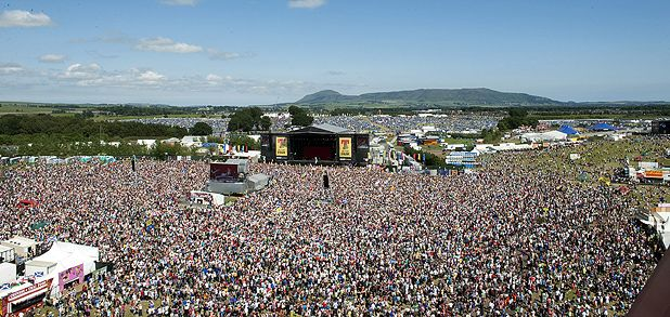 T in the Park 2010: Running order