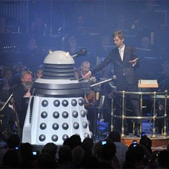 Dalek orders conductor to play