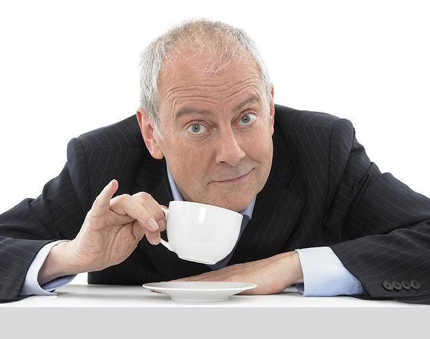 Gyles Brandreth - middle-aged, ex-MP, author, and Fringe show stalwart