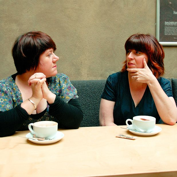 Zoë Strachan and Louise Welsh collaborate on Panic Patterns at Glasgay! 2010