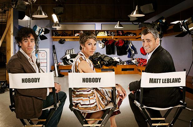 'Comedy about a comedy' Episodes stars Matt LeBlanc, Tamsin Greig and Stephen Mangan