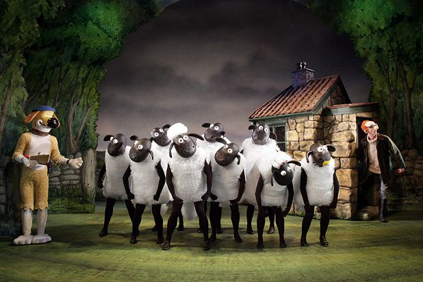 The wee sheep from Wallace & Gromit goes solo in Shaun's Big Show