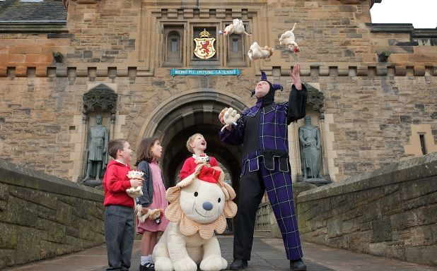 Easter Revelry event at Edinburgh Castle