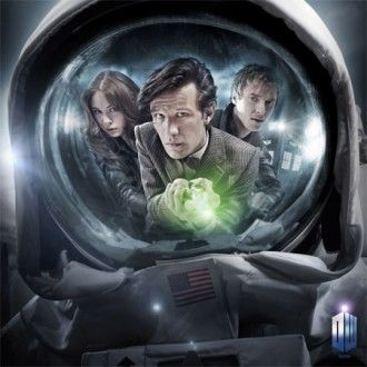 Doctor Who star Matt Smith in The Impossible Astronaut