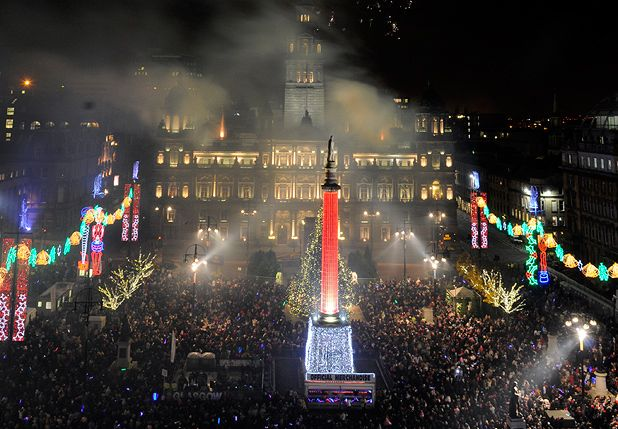 Glasgow city council scraps hogmanay street party the list