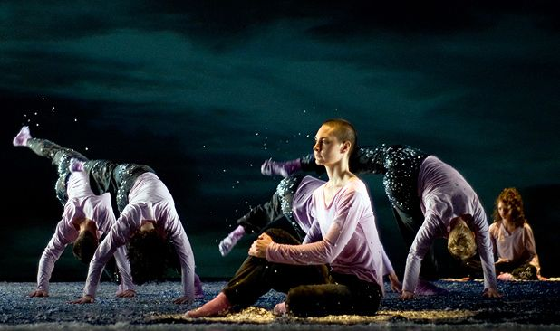 Shen Wei Dance Arts perform Re-Triptych at 2011 Edinburgh International Festival