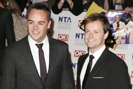 I'm A Celeb presenters Ant and Dec