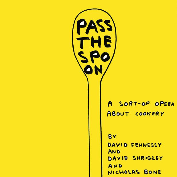Pass the Spoon - How David Shrigley's opera took shape