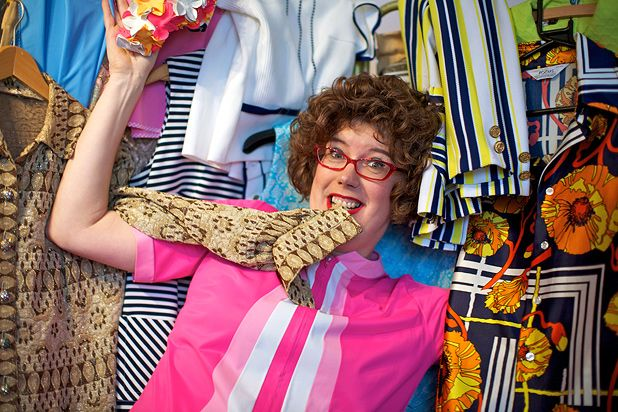 Interview: Lorraine Bowen celebrates material world in Polyester Fiesta!