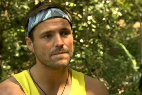 Mark Wright in the jungle