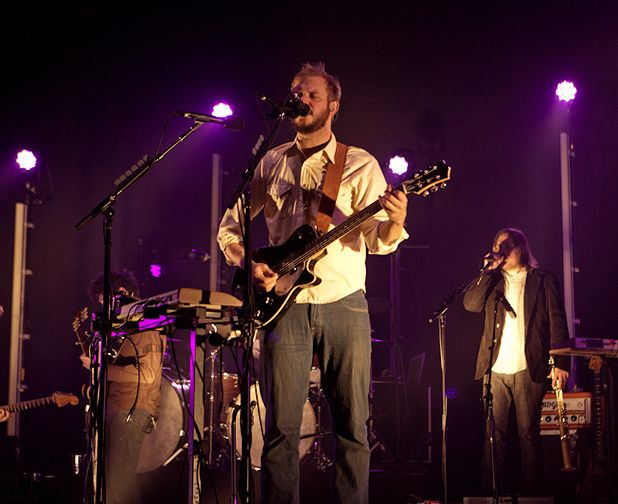 Bon Iver - Usher Hall, Edinburgh, Sat 22 Oct 2011