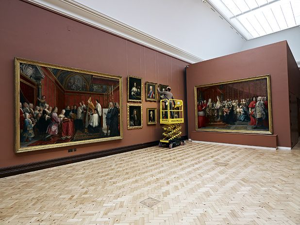 Scottish National Portrait Gallery in Edinburgh reopens