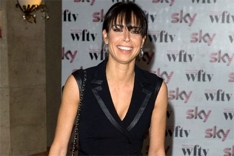 Christine Bleakley at the Sky Women in Film and Television Awards 2011 earlier today (02.12.11).