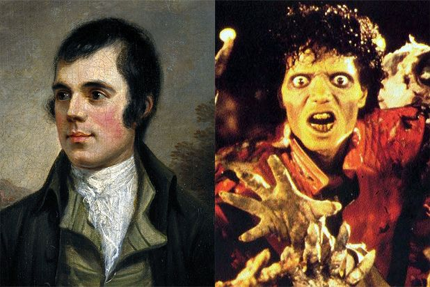 Michael Jackson project based on poems of Robert Burns