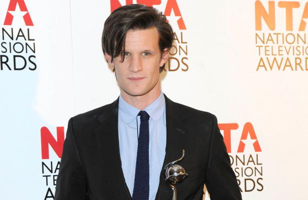 Matt Smith at the National Television Awards