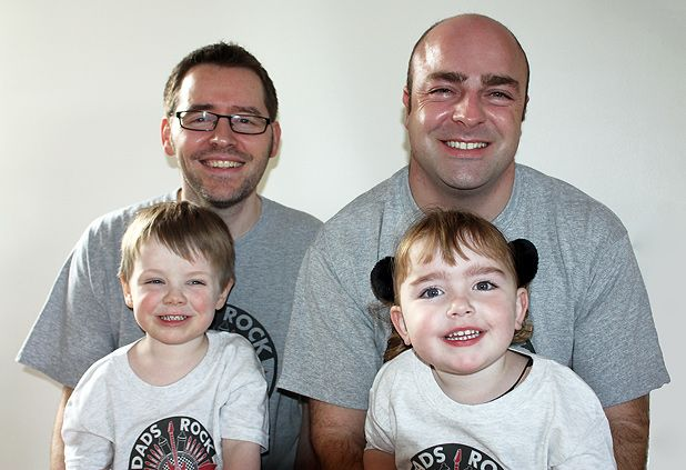 Parent-and-toddler group Dads Rock provides a musical outlet for fathers and tots