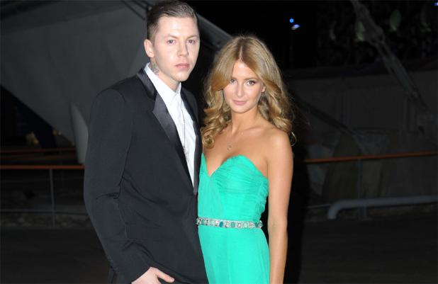 Professor Green and Millie Mackintosh