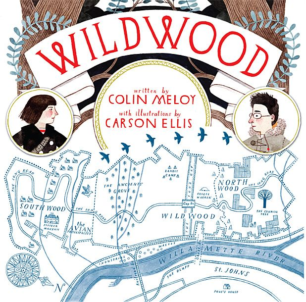 Decembrists singer Colin Meloy writes children's book Wildwood