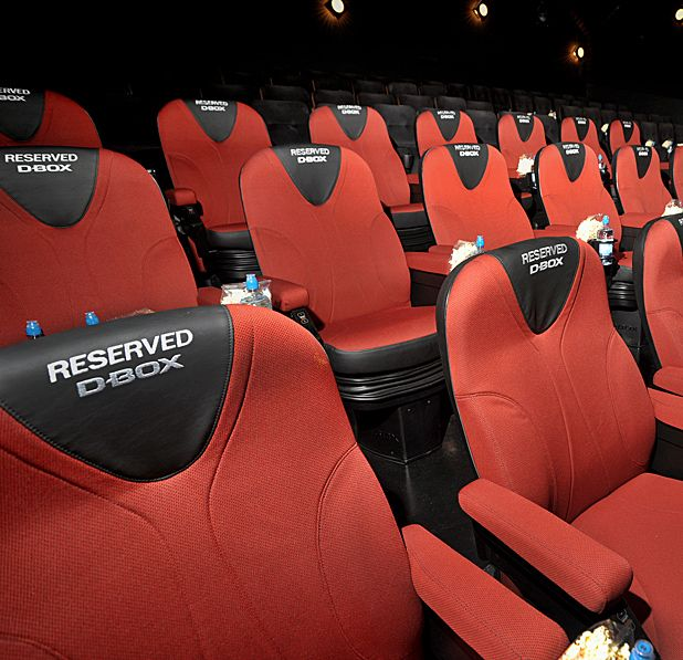 Glasgow's Cineworld Renfrew Street introduces '4D' rumble seats