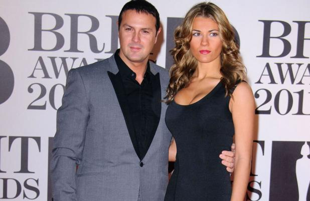 Paddy McGuinness with his wife Christine Martin