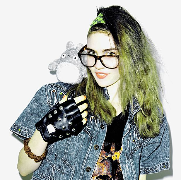 Interview grimes electronica artist the list for Asian cuisine grimes