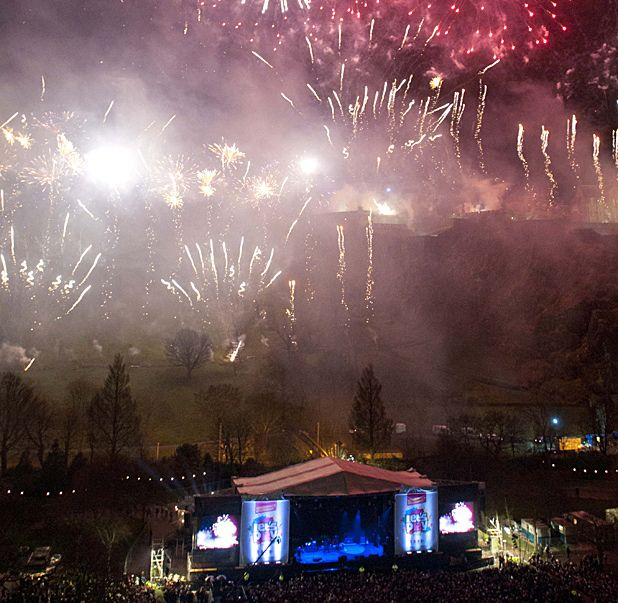 Edinburgh Hogmanay tickets on sale now