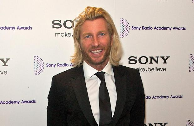 Robbie Savage at the Sony Radio Academy Awards