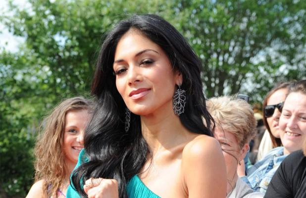 Nicole Scherzinger at the Newcastle auditions