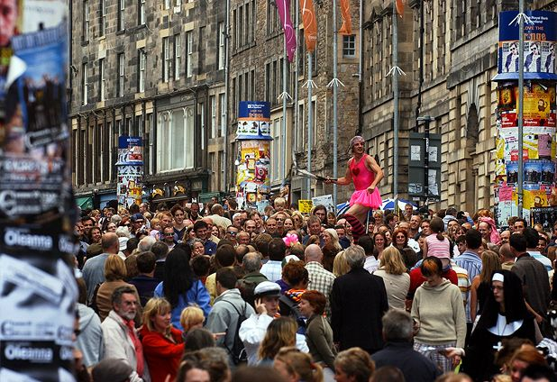 How to visit the Edinburgh Festival