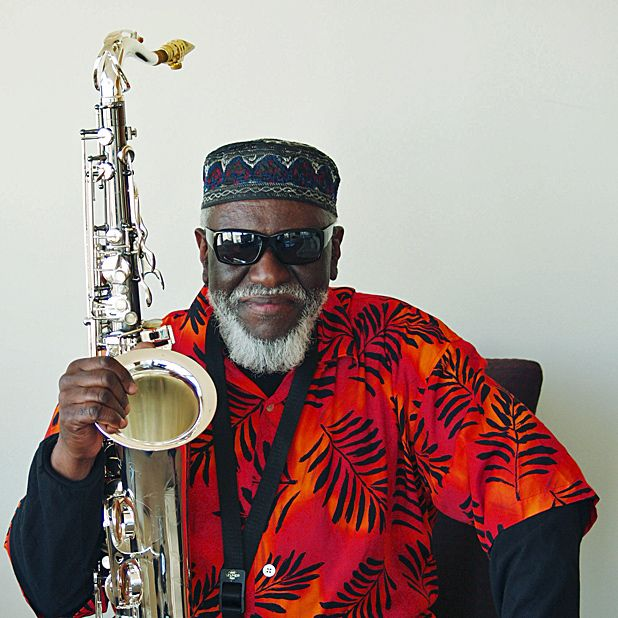 Pharaoh Sanders, Old Fruitmarket, Glasgow, Wed 27 Jun