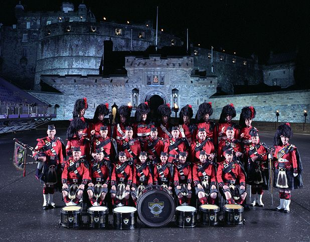 Royal Edinburgh Military Tattoo 2012