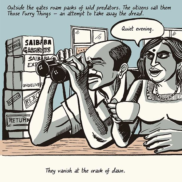 Sarnath Banerjee: History is Written by Garment Exporters