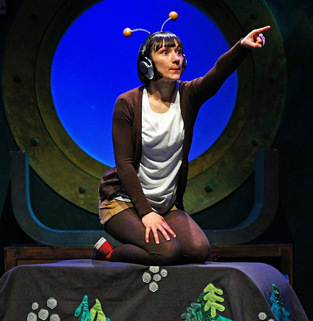 Tall Stories to perform Julia Donaldson's The Snail and the Whale at Fringe 2012