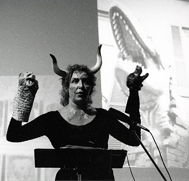 Iconic America artist Carolee Schneemann appearing at the Edinburgh Art Festival 2012