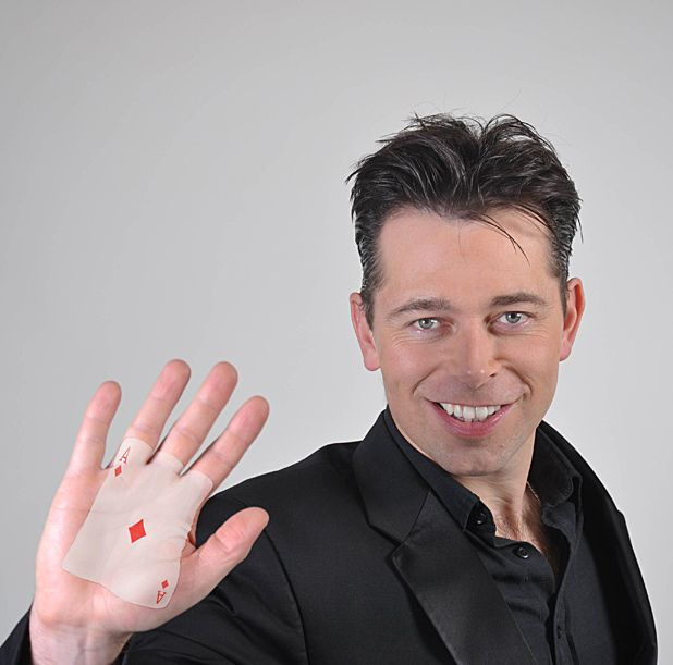 Magic and mind control maestro Chris Dugdale reveals his career highlights