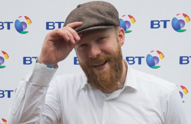 Alex Clare performed at BT London Live yesterday