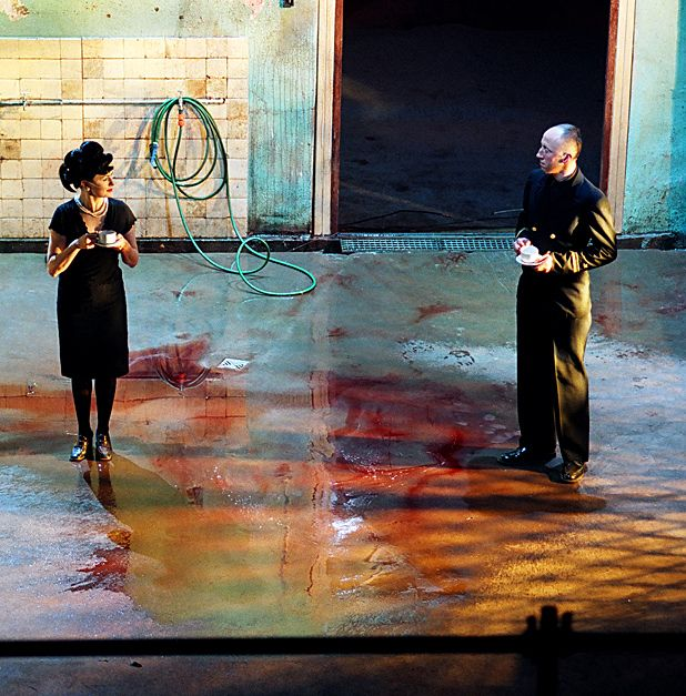 TR Warszawa's 2008: Macbeth relocates the Scottish Play to Iraq