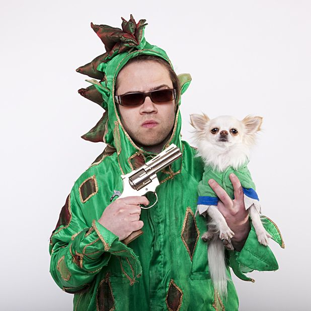 Piff the Magic Dragon in . . . Jurassic Bark